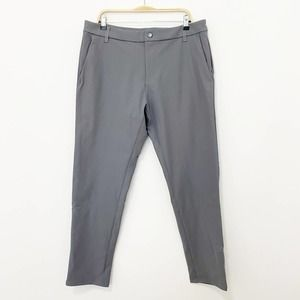 NEW Lululemon Commission Gray Pants Size 36